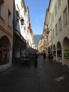 Streets of Merano Italy