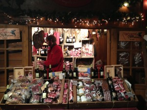 speck booth at Bolzano Christmas Market