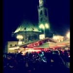 Bolzano Christmas Market at Night