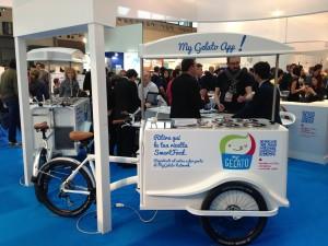 gelato, bike