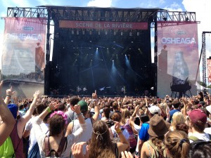 stage, osheaga