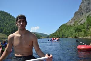 rafting, humber river