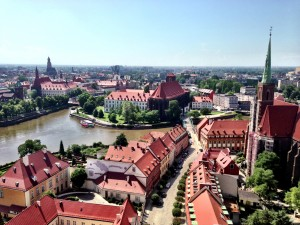 Panoramic Wroclaw
