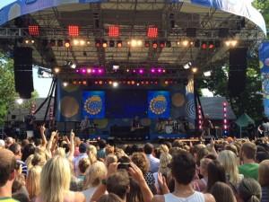concert in central park